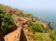 Cabo da rama fort and surroundings