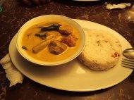 My very good vegetarian vegetable curry food :)