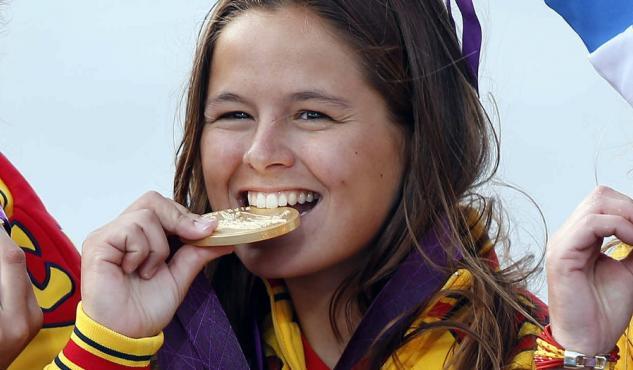 Sofía Toro Prieto-Puga medalla de oro de los Juegos olímpicos de londres 2012