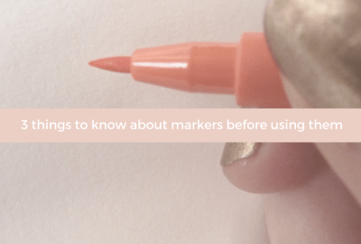 3 things to know about markers before using them