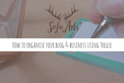 Blog organising using trello