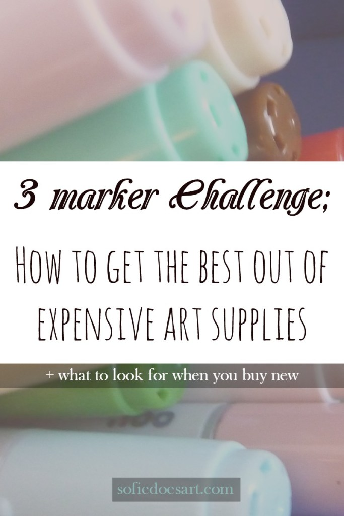 How to get the best out of expensive art supplies and what do you need to look for when buying them. Build your collection the smart way on a budget.