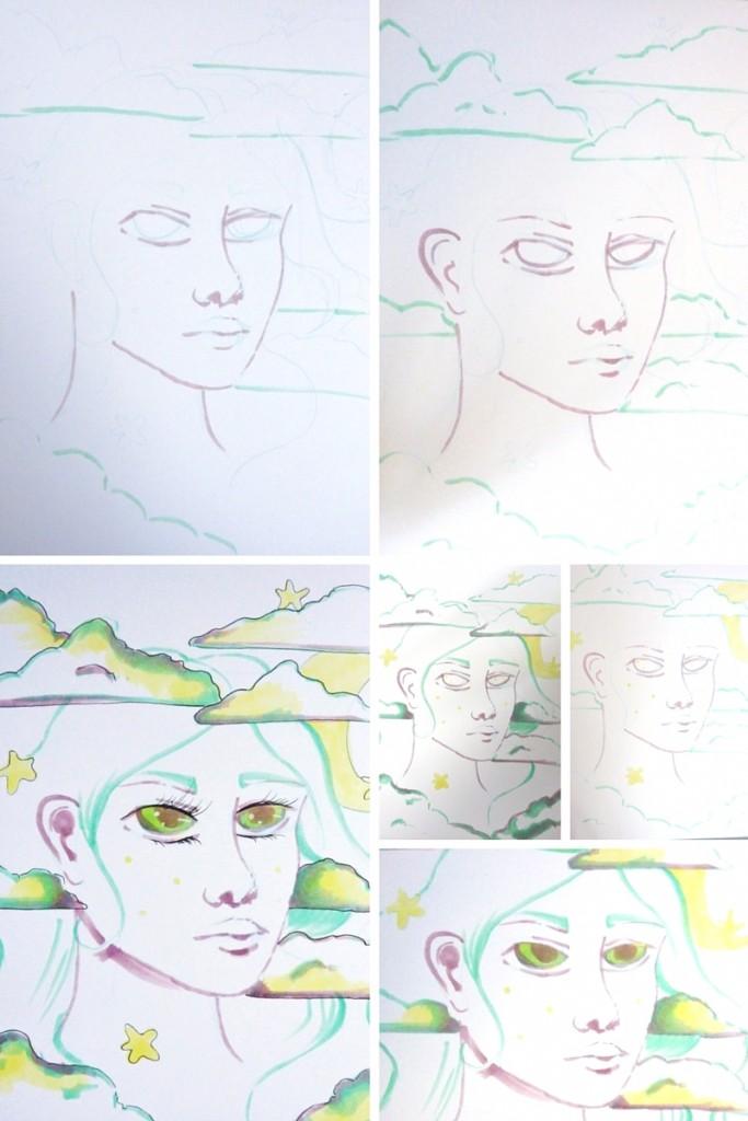 attempt 5 called dreamy portrait