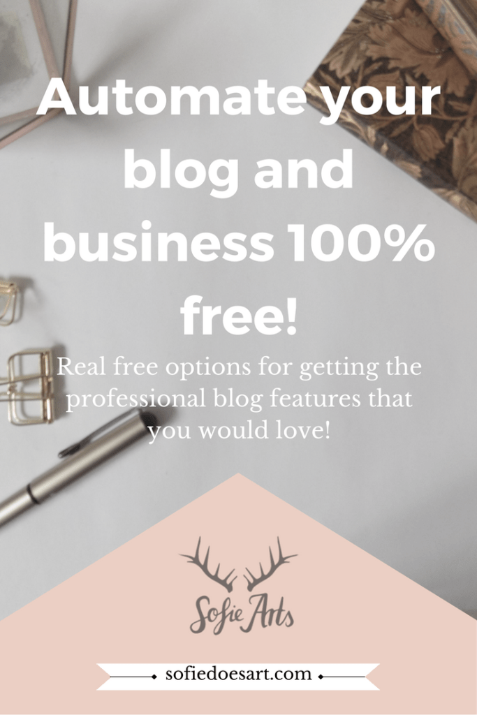 Grow you blog for free! These tools that automate your blog are 100% free.