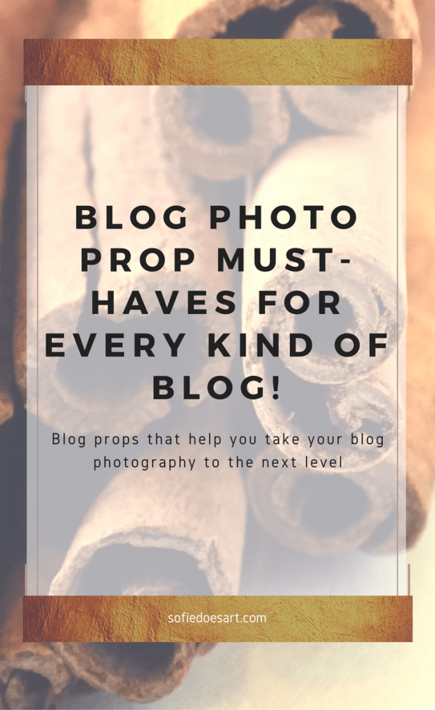 Blog props that help you style better pictures for your blog and for Instagram!