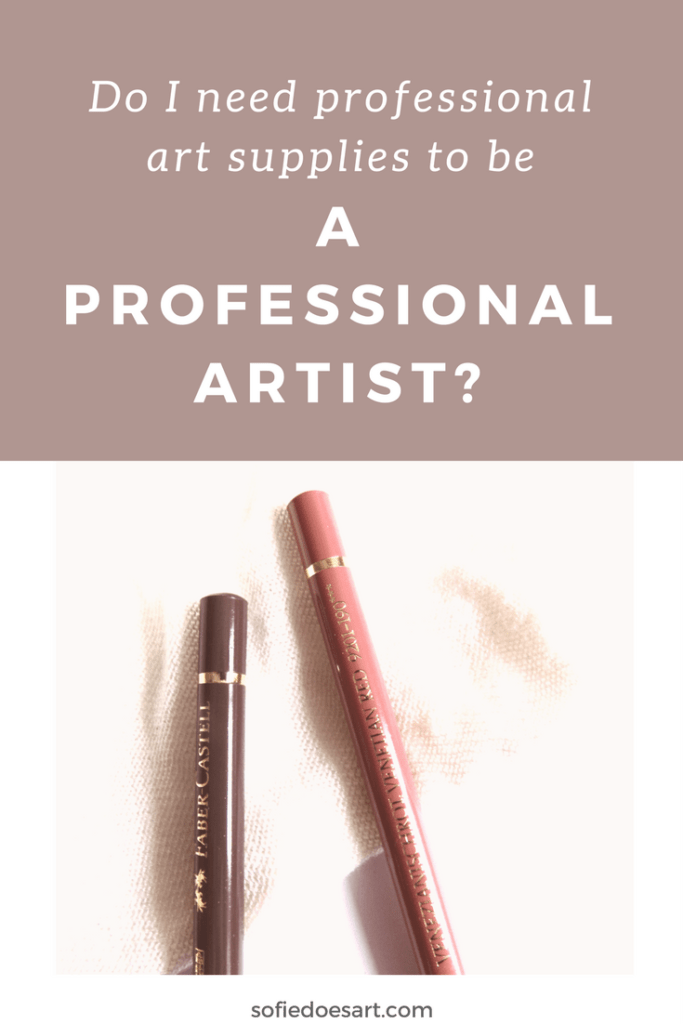 What do you need to ook out for when buying art supplies and is it necessary to buy the most expensive supplies?