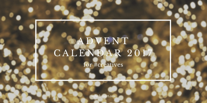 The 2017 advent Calendar is here!