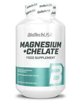 Magnesium + Chelate 60 Kapseln – BiotechUSA
