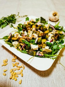 Read more about the article Feta-Rosenkohl Salat