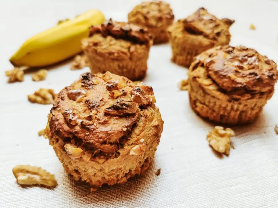 You are currently viewing Bananen-Walnuss Muffins