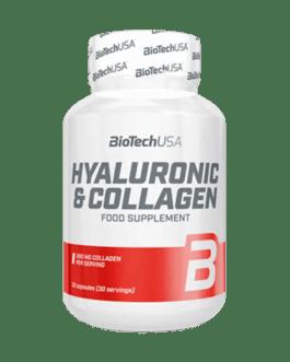 Hylauronic & Collagen 30 Tabl. – BiotechUSA