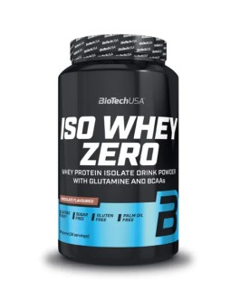Iso Whey Zero Protein 908g – BiotechUSA