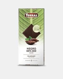 Stevia Schokolade 100g – Dark Schokolade – Torras