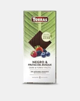 Stevia Schokolade mit Waldfrüchten