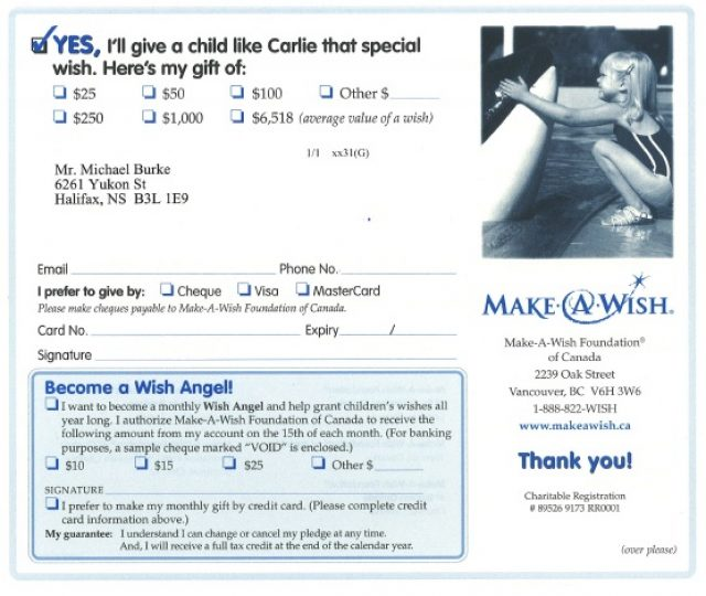 SOFII How I Wrote It The Make A Wish Foundations Prospect Letter