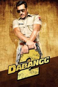 """Poster for the movie """"Dabangg 2"""""""