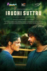 """Poster for the movie """"Irudhi Suttru"""""""