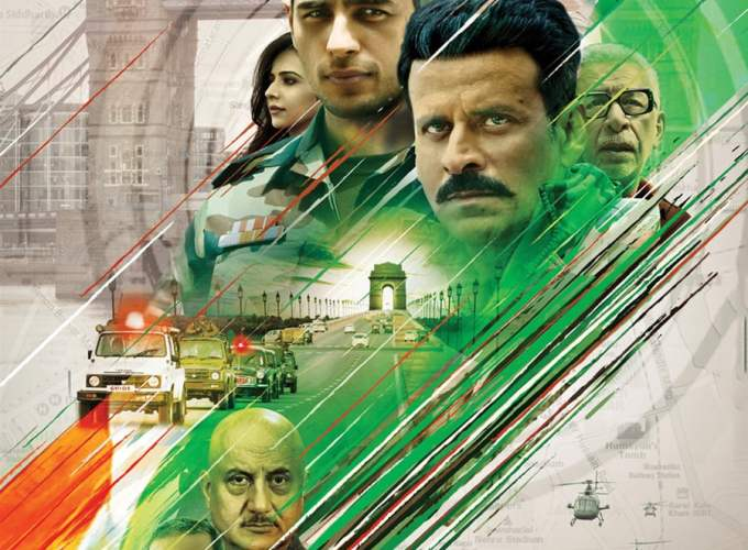 """Poster for the movie """"Aiyaary"""""""