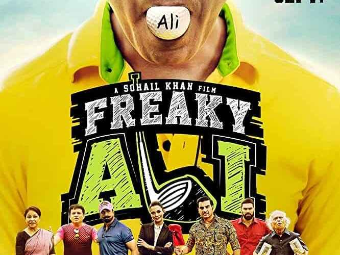"Poster for the movie ""Freaky Ali"""