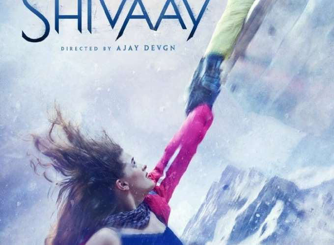 "Poster for the movie ""Shivaay"""