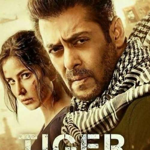 "Poster for the movie ""Tiger Zinda Hai"""
