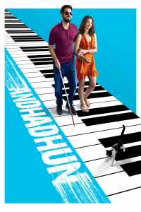 "Poster for the movie ""Andhadhun"""