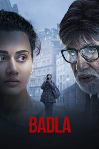 """Poster for the movie """"Badla"""""""