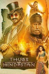 "Poster for the movie ""Thugs of Hindostan"""