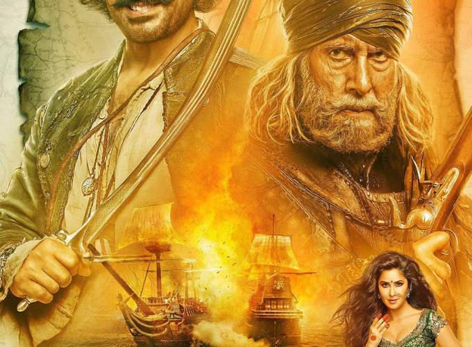 """Poster for the movie """"Thugs of Hindostan"""""""