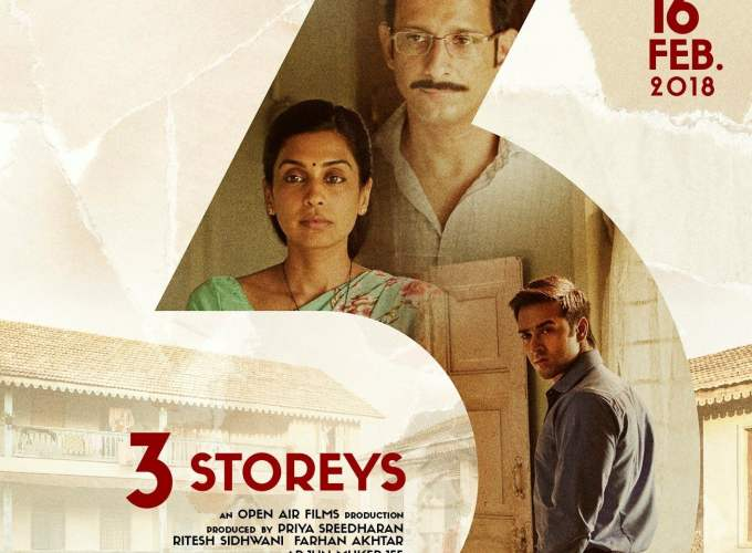 "Poster for the movie ""3 Storeys"""