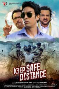 "Poster for the movie ""Keep Safe Distance"""