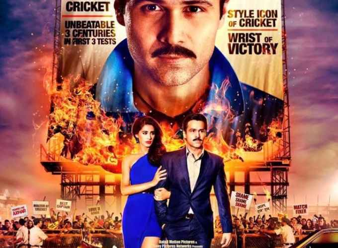 "Poster for the movie ""Azhar"""