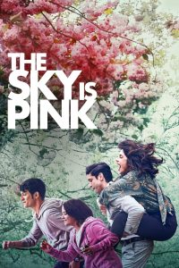 """Poster for the movie """"The Sky Is Pink"""""""