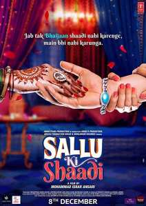 "Poster for the movie ""Sallu Ki Shaadi"""