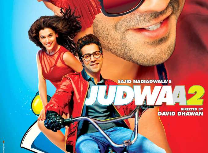 """Poster for the movie """"Judwaa 2"""""""