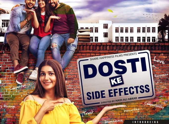 "Poster for the movie ""Dosti Ke Side Effects"""