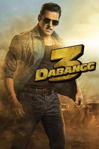 """Poster for the movie """"Dabangg 3"""""""