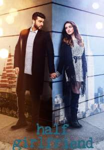 "Poster for the movie ""Half Girlfriend"""