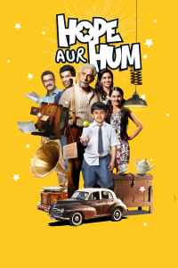 """Poster for the movie """"Hope Aur Hum"""""""