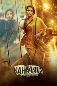 """Poster for the movie """"Kahaani 2"""""""