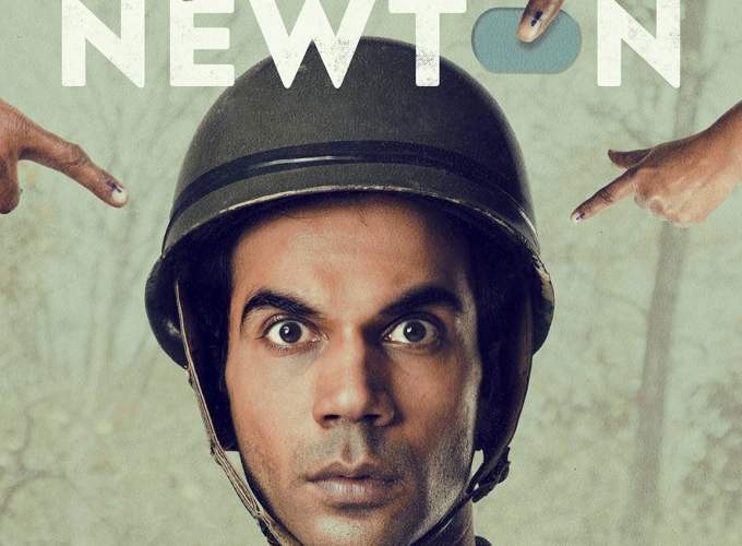"Poster for the movie ""Newton"""