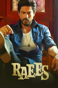 "Poster for the movie ""Raees"""