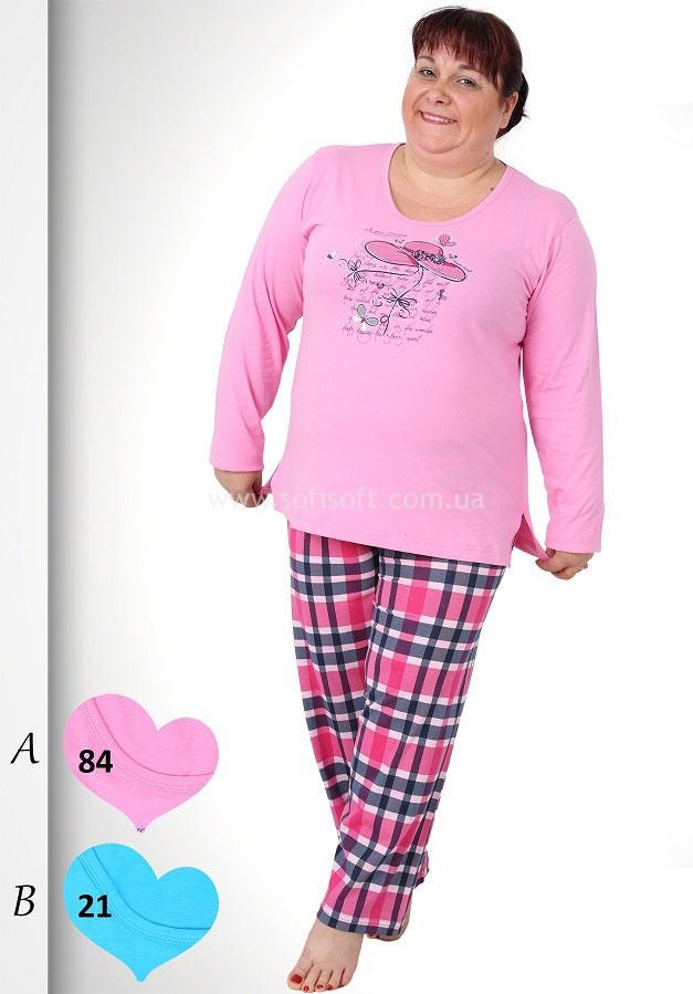 Пижама женская брюки 3091550882