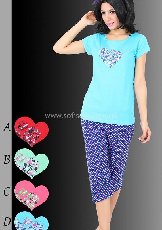 Пижама женская Капри 4038
