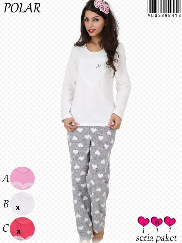 Пижама женская Флис 4033282973