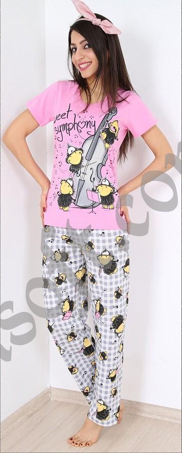 Пижама женская брюки 8680646001481