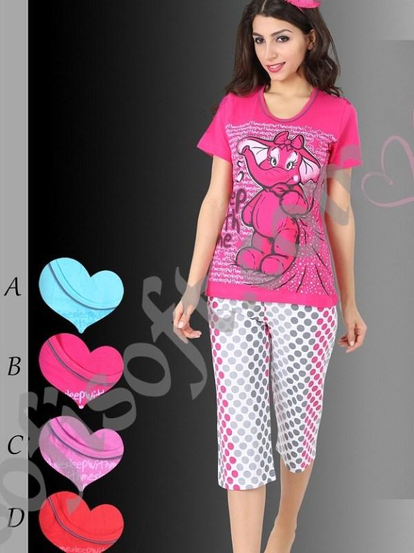 Пижама женская Капри 8680646004918
