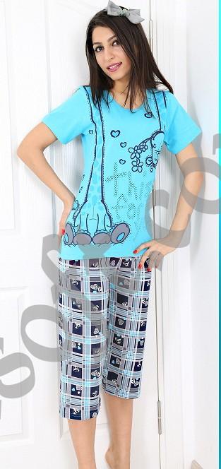 Пижама женская Капри 8680646005281