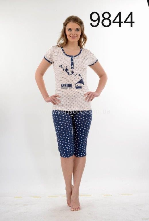Пижама женская Metin 9844