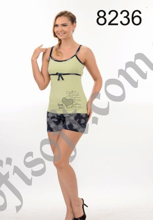 Пижама женская шорты Metin 8236